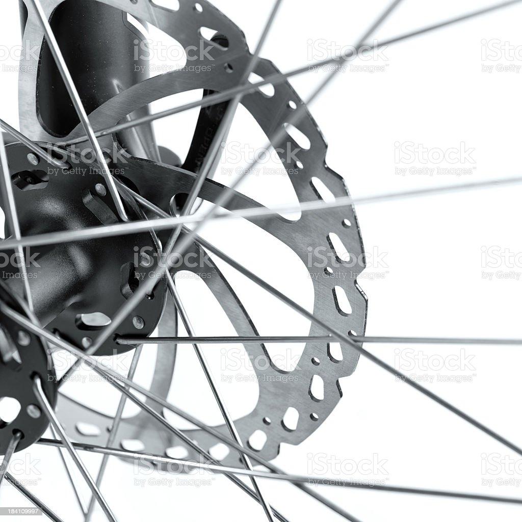 Mountain Bicycle Detail stock photo