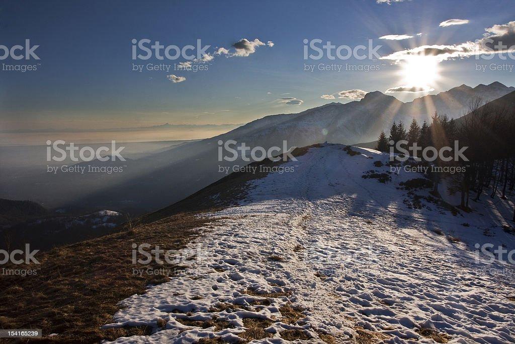 mountain bielmonte stock photo