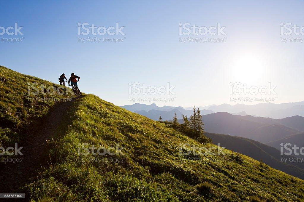 Mountain Bike Adventure stock photo