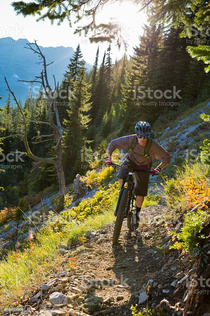 Mountain Bike Canada stock photo