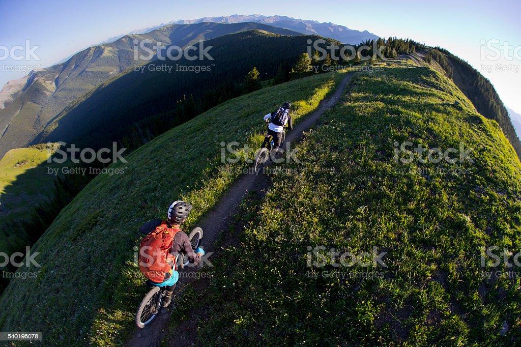 Mountain Bike Canada stock photo