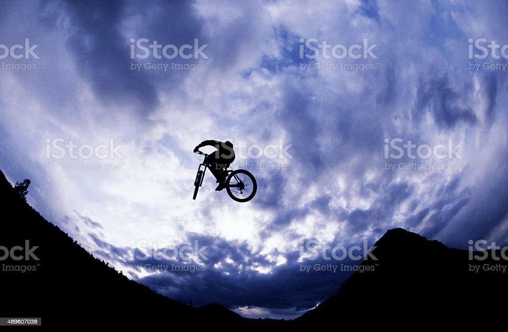Mountain Bike Dirt Jumper stock photo