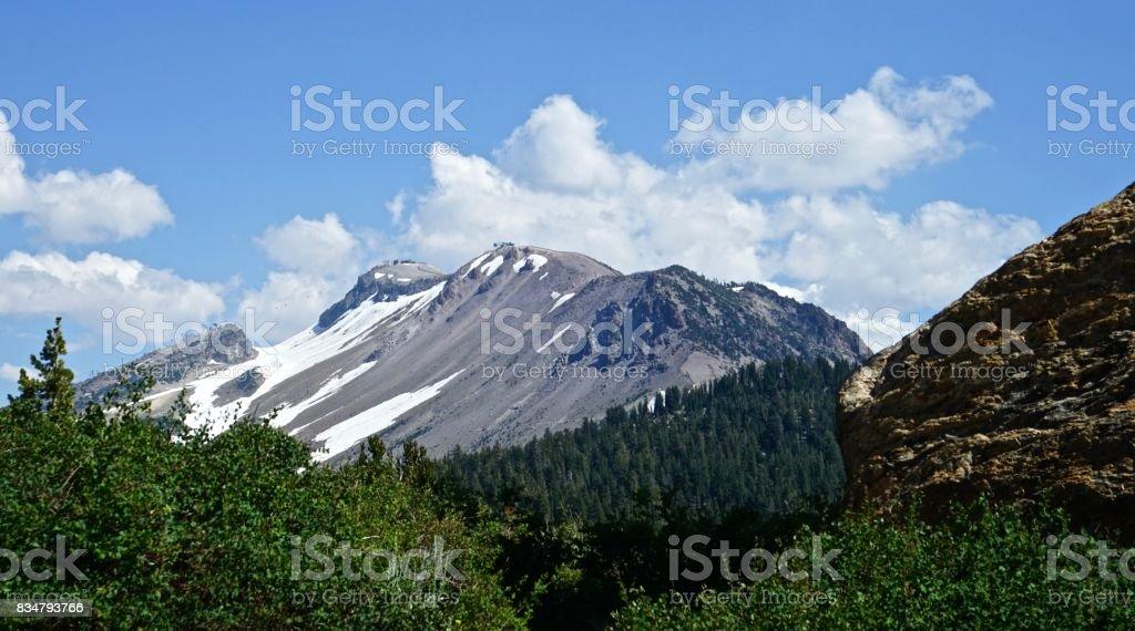 Mountain Bike Mountain stock photo