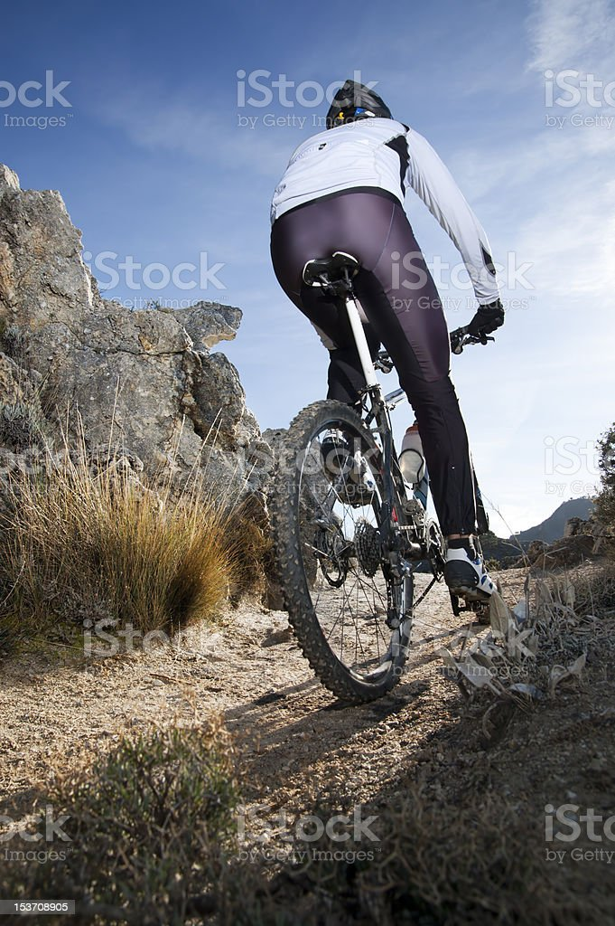 Mountainbike royalty-free stock photo