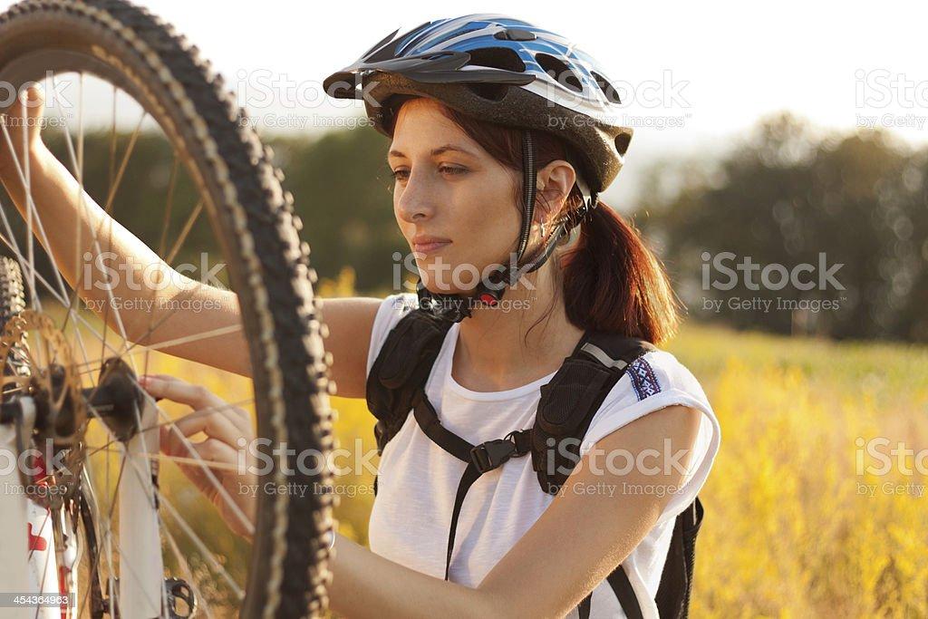 Mountain Bike royalty-free stock photo