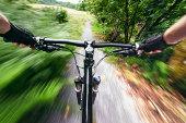 Mountain Bike Singletrack Speed