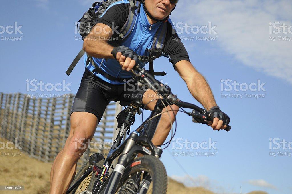 mountain bike sport royalty-free stock photo