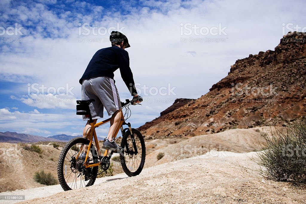 Mountain Bike Utah! royalty-free stock photo