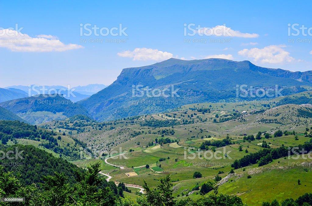 Mountain Bjelasnica stock photo