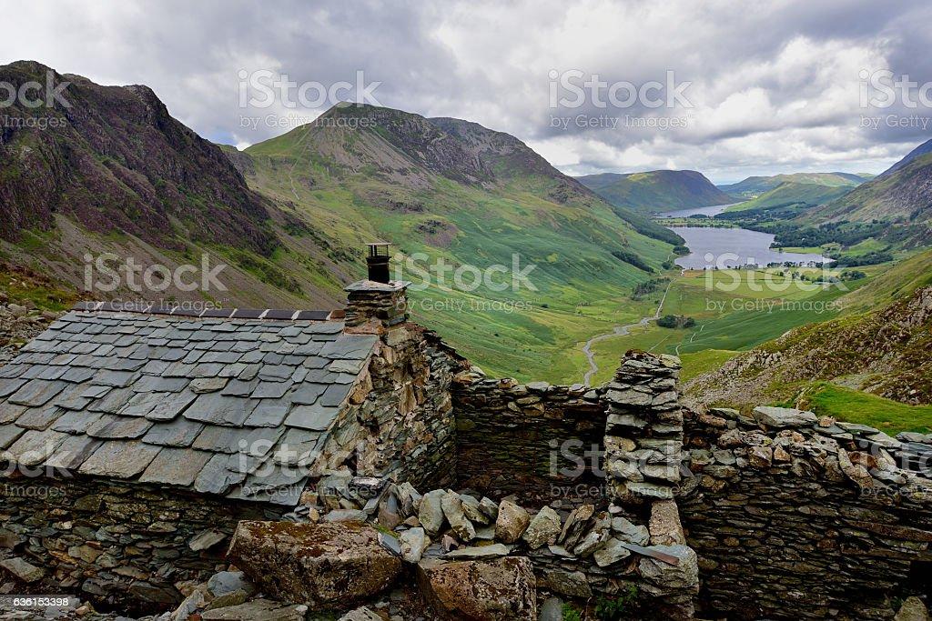 Mountain Bothy stock photo