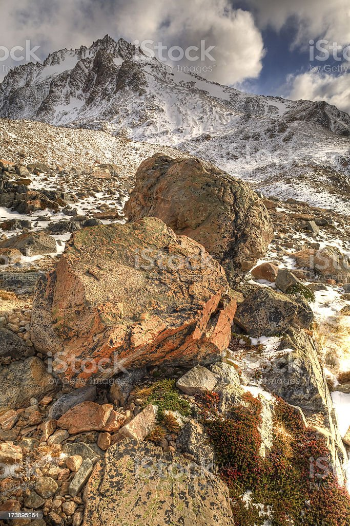 Mountain Boulders royalty-free stock photo