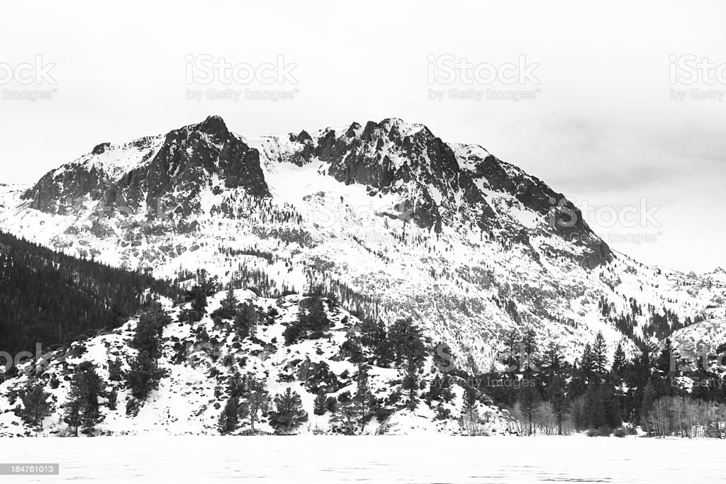 Mountain, Carson Peak, Sierra Nevada stock photo