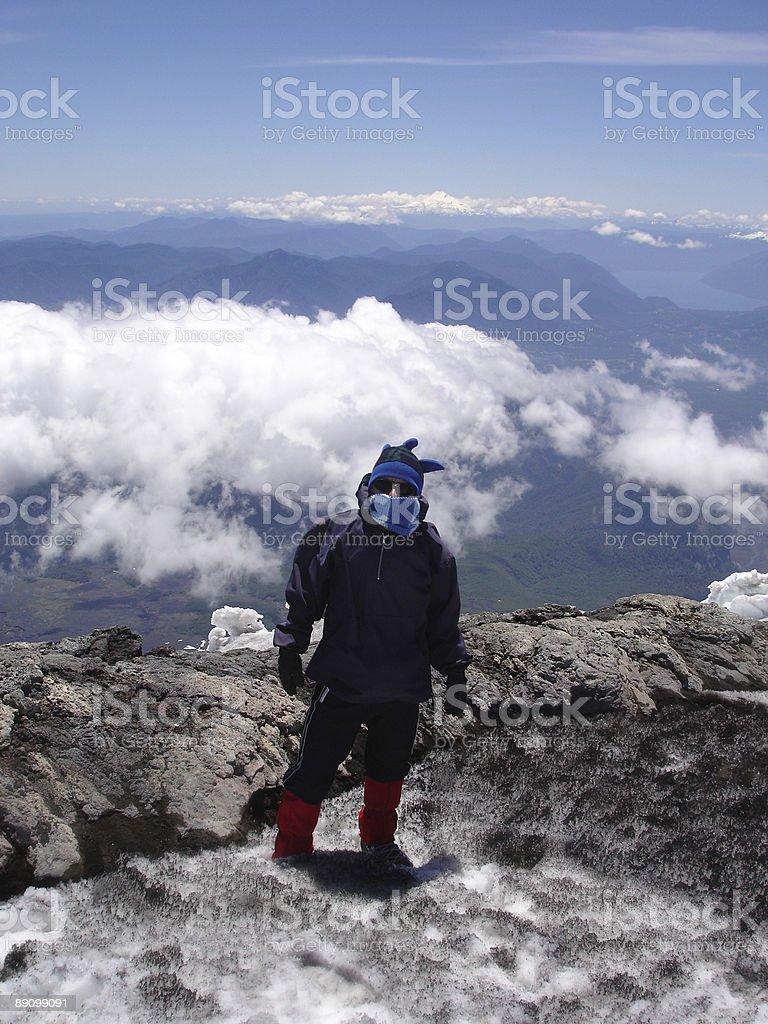 Mountain Climber royalty-free stock photo