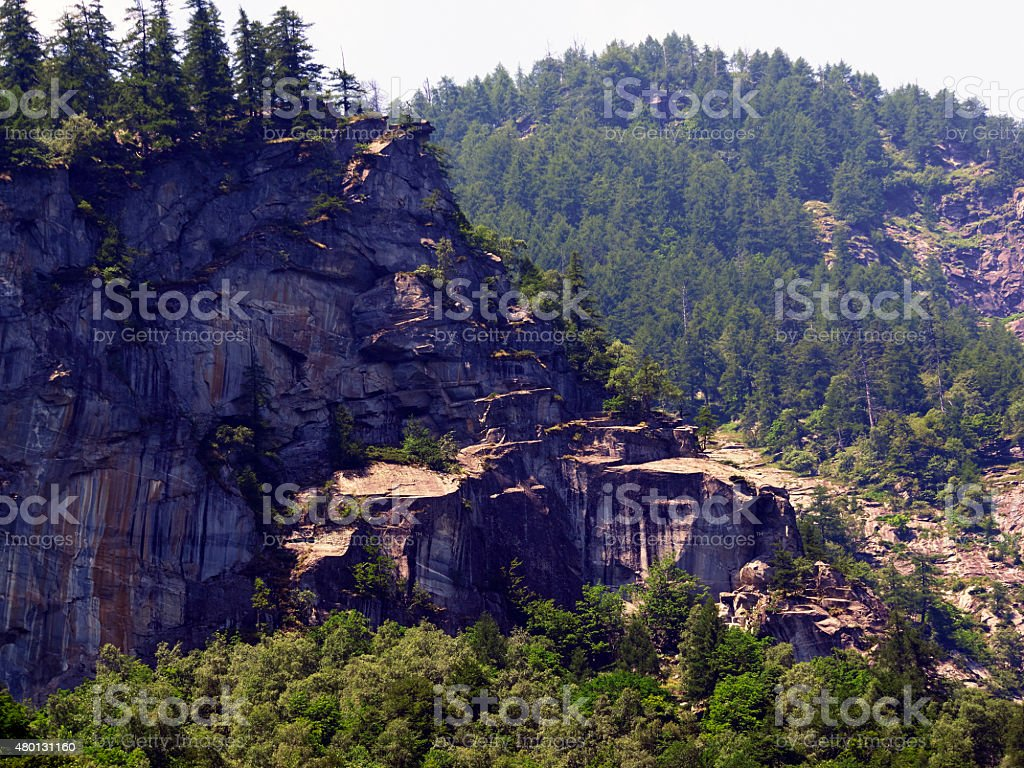 Mountain. Color Image stock photo