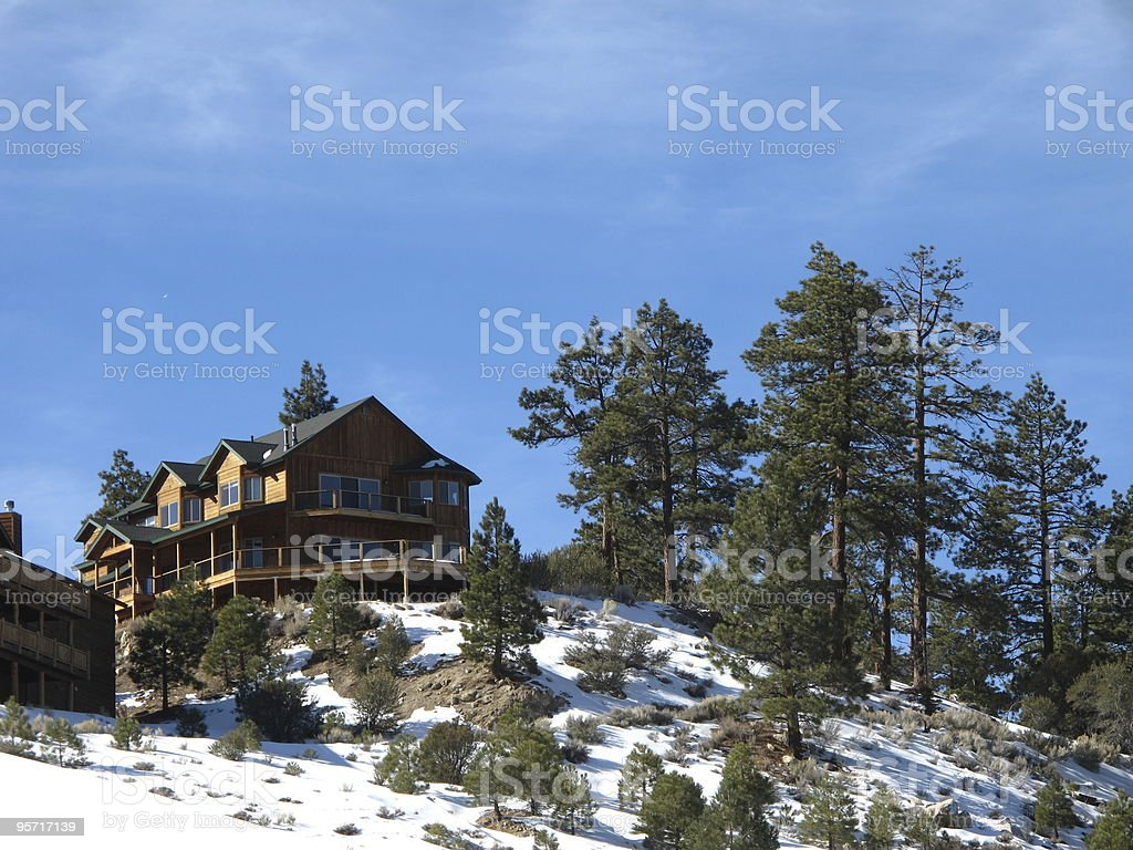 Cottage di Mountain Home foto stock royalty-free