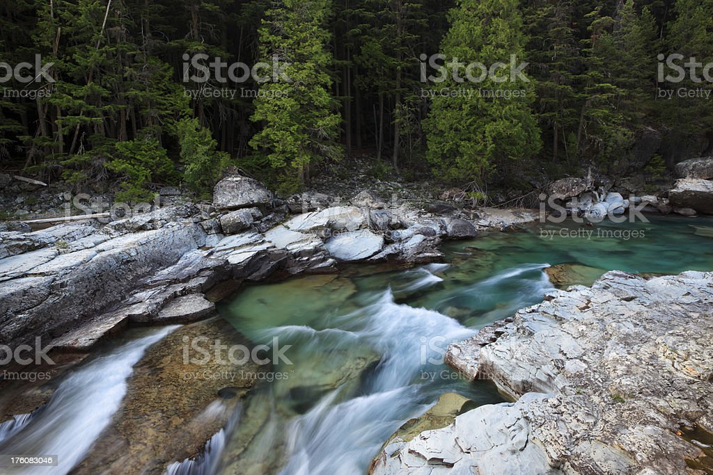 Mountain Creek royalty-free stock photo