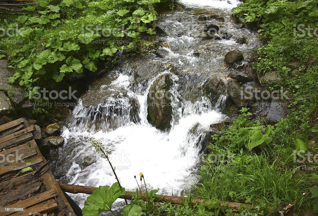 mountain creek royalty-free stock photo