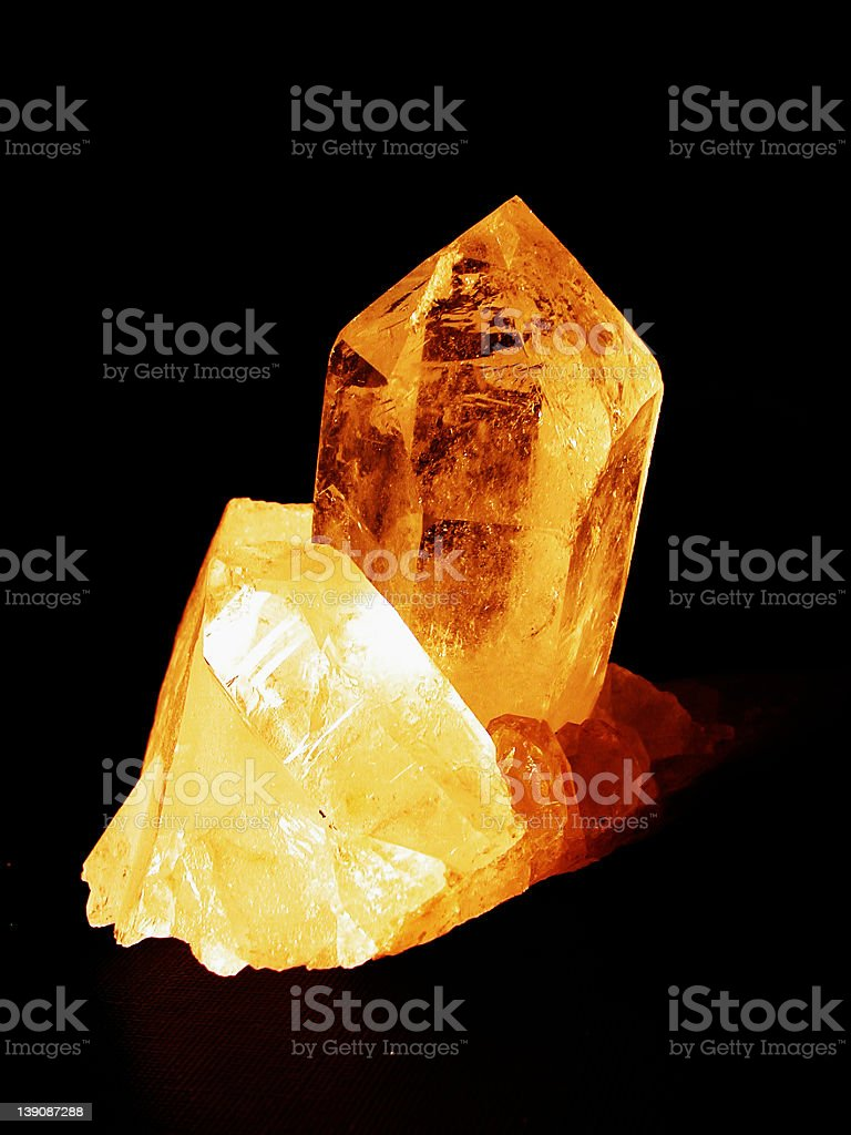 Mountain crystal royalty-free stock photo