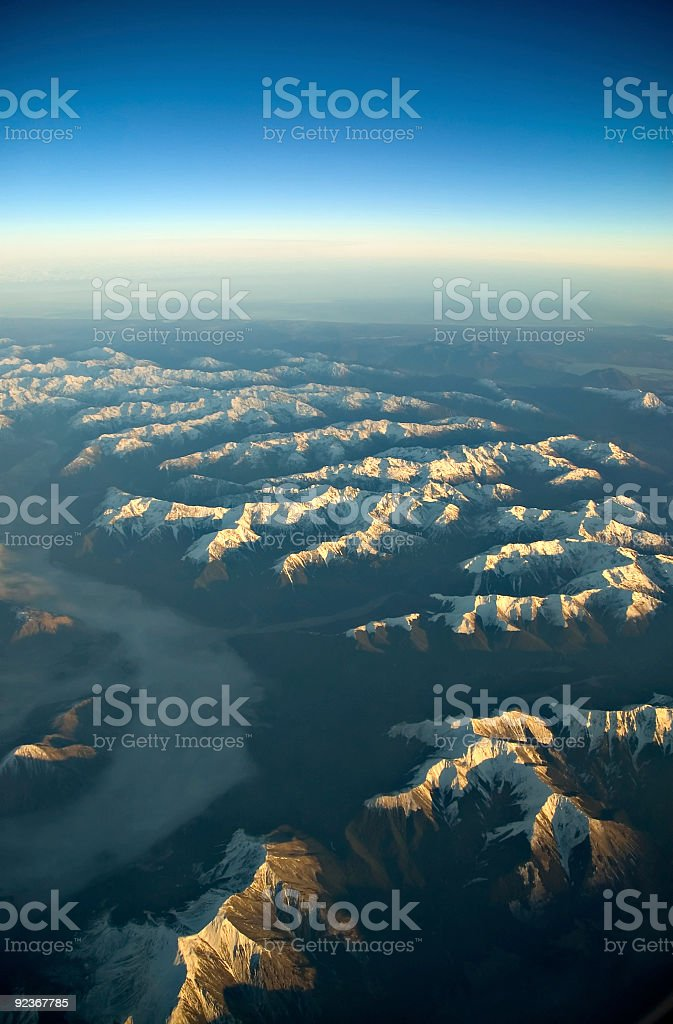 Mountain Dawn 01 royalty-free stock photo