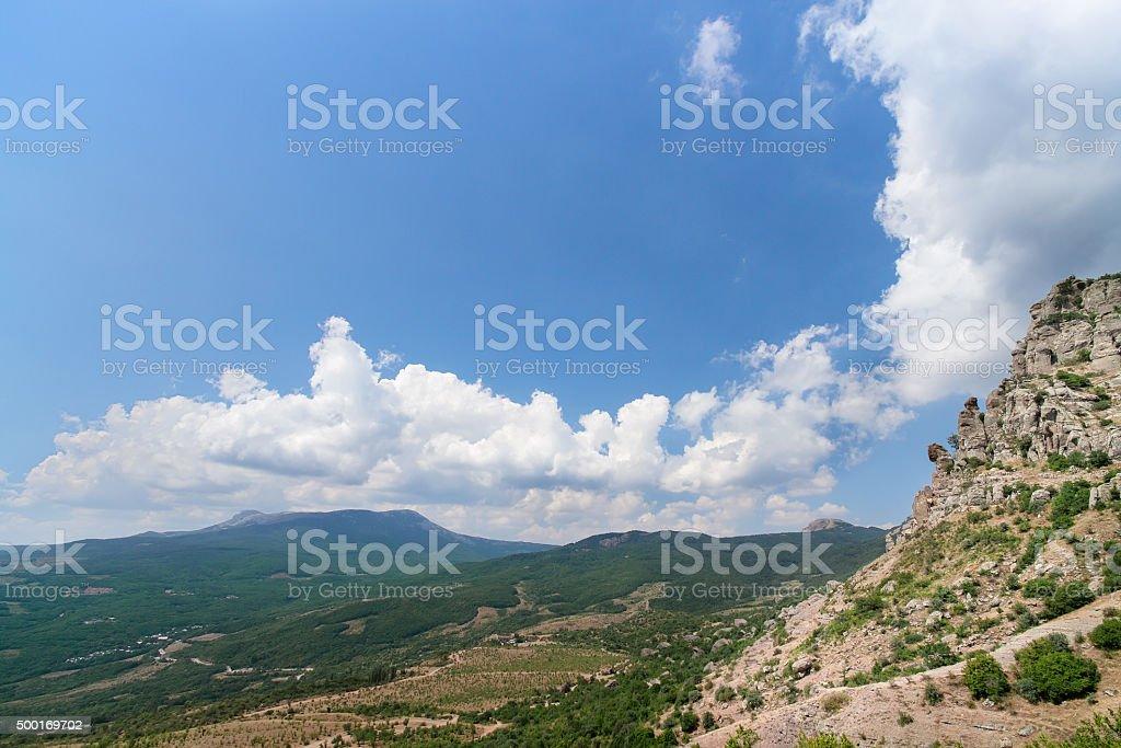 Mountain Demerdzhi stock photo