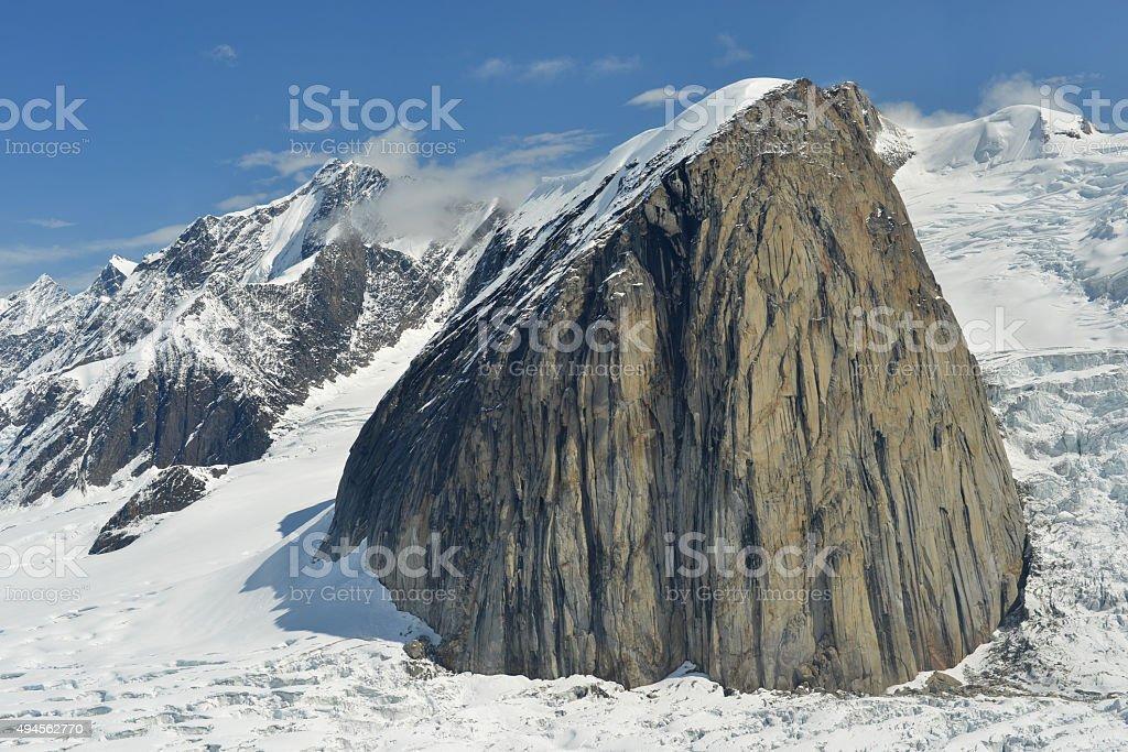 Mountain, Denali National Park, Alaska stock photo