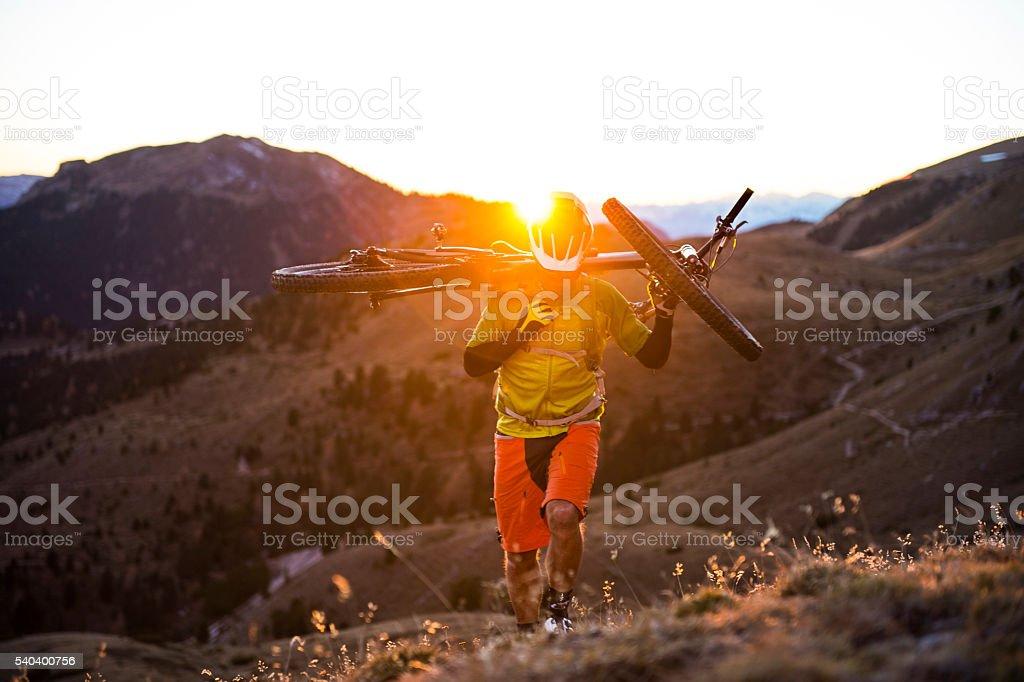 mountain direction peak above 4000 meters stock photo