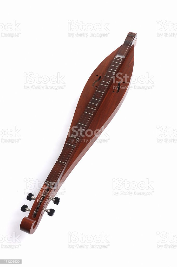 Mountain Dulcimer royalty-free stock photo