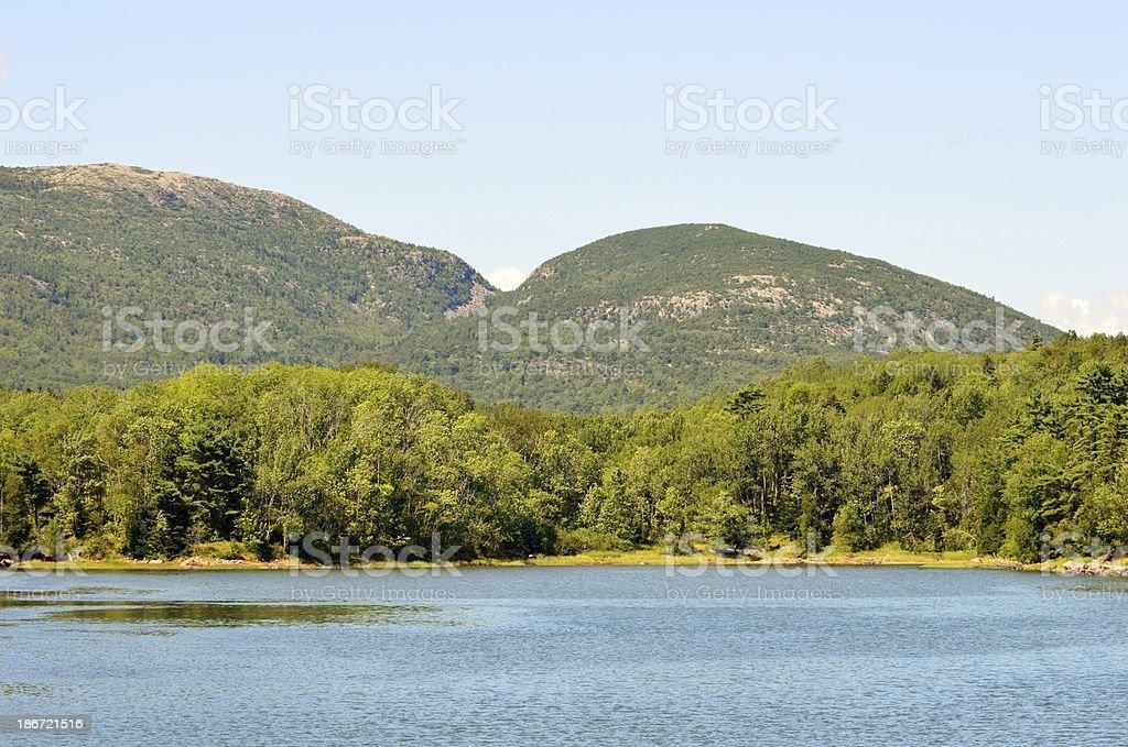 Mountain Duo de photo libre de droits