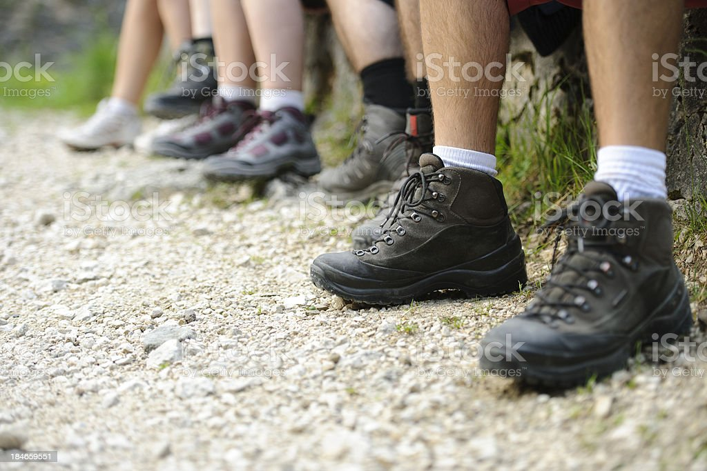 mountain equipment royalty-free stock photo