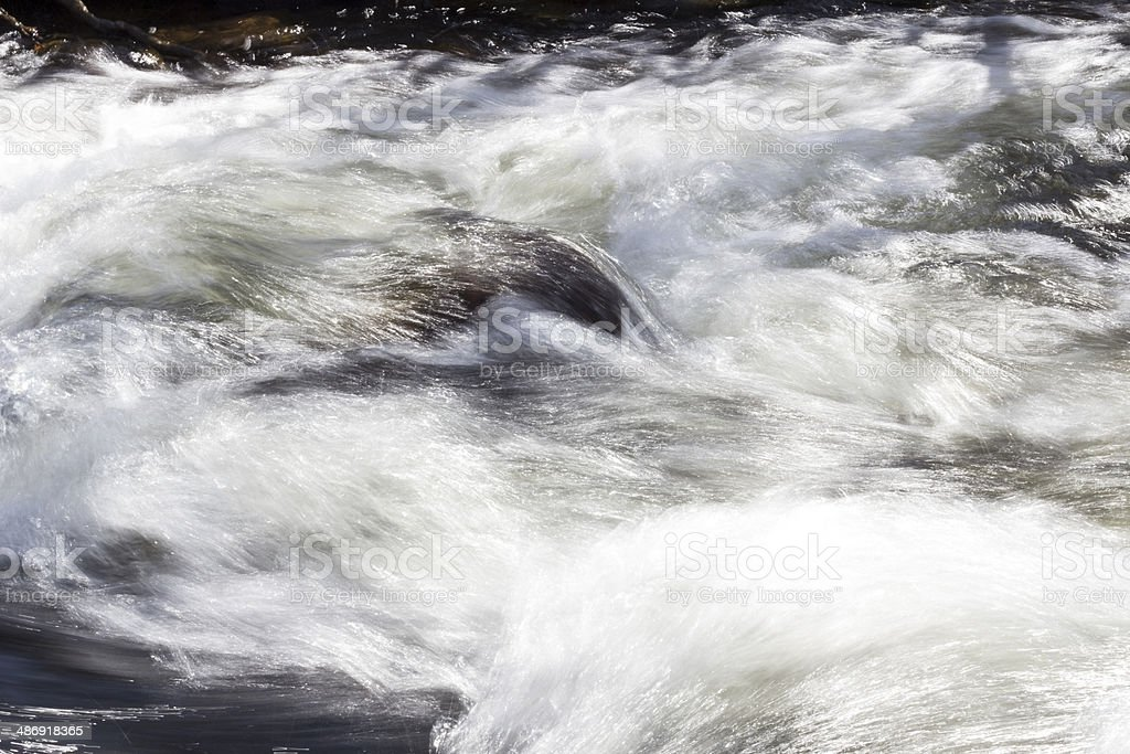 Mountain flowing stream royalty-free stock photo