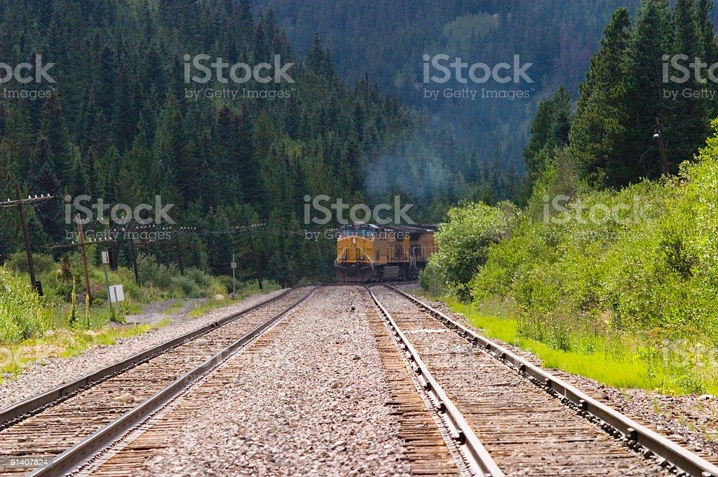 Mountain Freight royalty-free stock photo