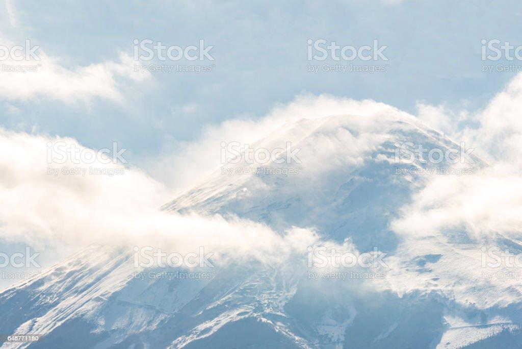 Mountain Fuji Kawaguchiko stock photo