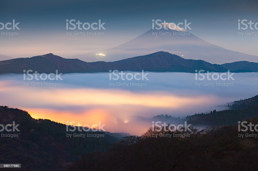 Mountain Fuji stock photo