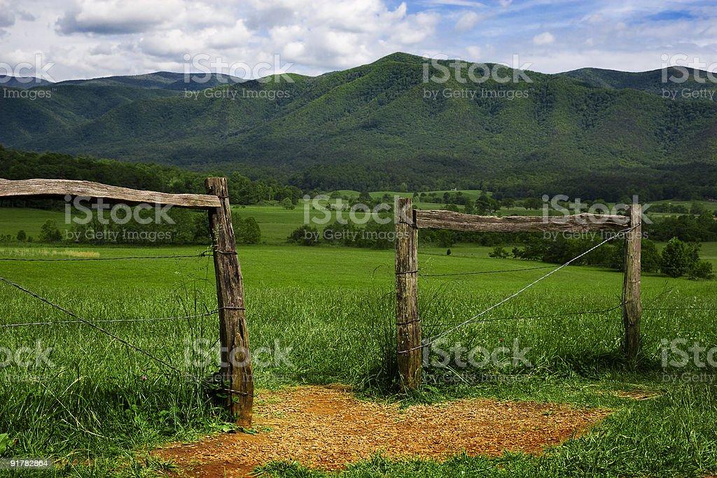 mountain gateway royalty-free stock photo