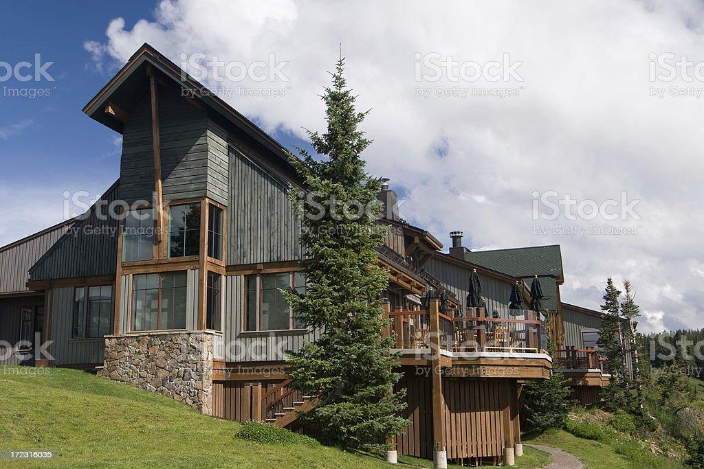 Mountain Getaway royalty-free stock photo