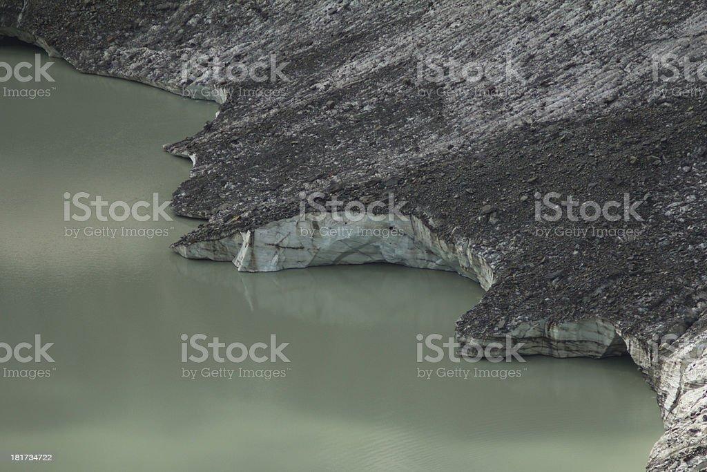mountain glacier royalty-free stock photo
