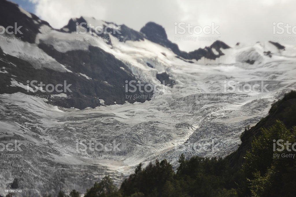 mountain glacier royalty-free stock photo