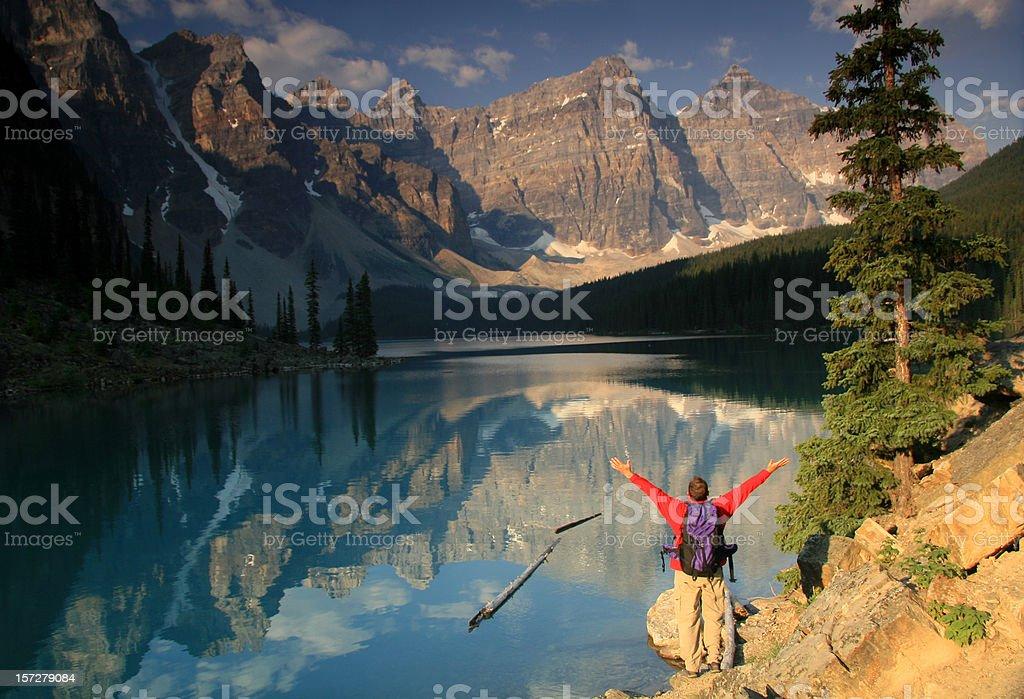 Mountain Glory royalty-free stock photo