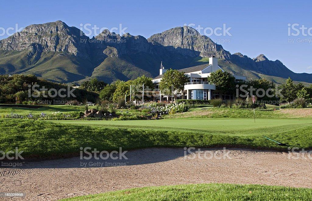 Mountain Golf Estate royalty-free stock photo