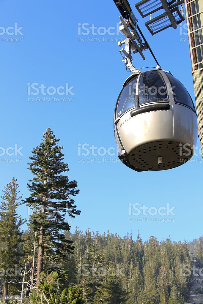 Mountain Gondola stock photo