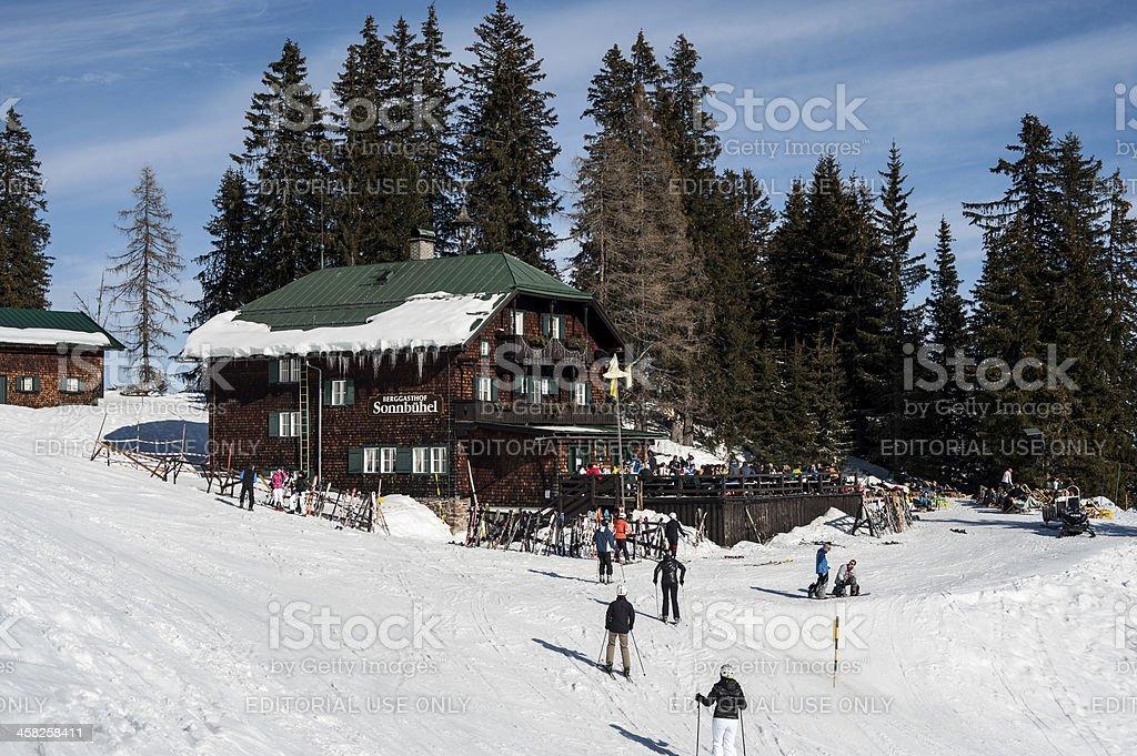 Mountain Guesthouse Sonnbühel, Kitzbühel, Tirol royalty-free stock photo