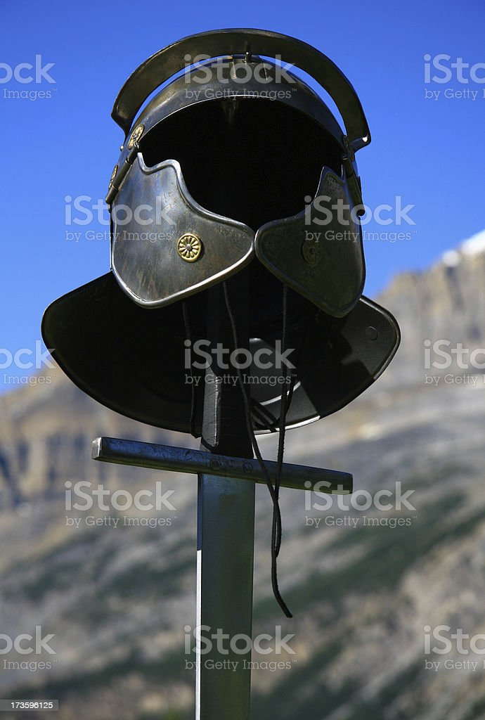 Mountain Helmet royalty-free stock photo
