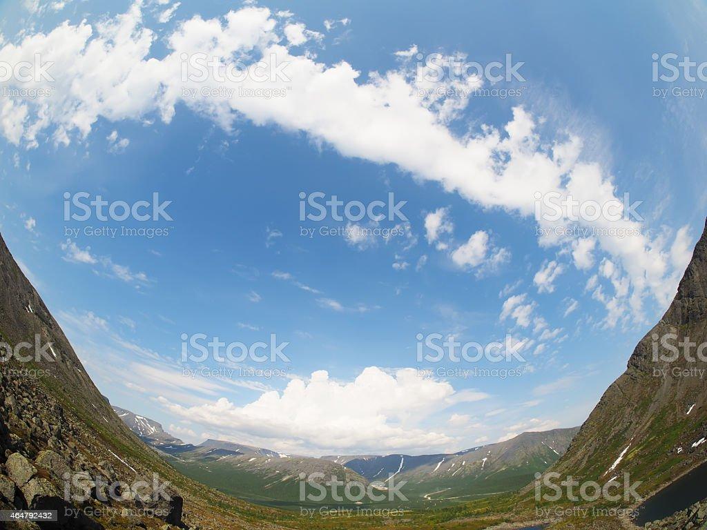 mountain Hibiny stock photo