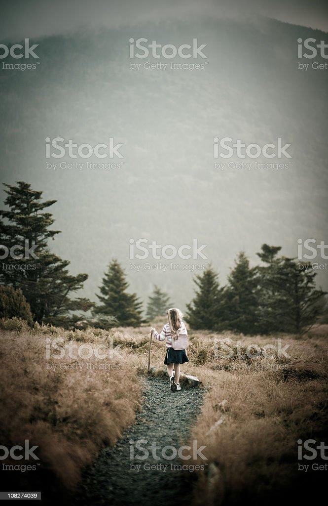 Mountain Hike royalty-free stock photo