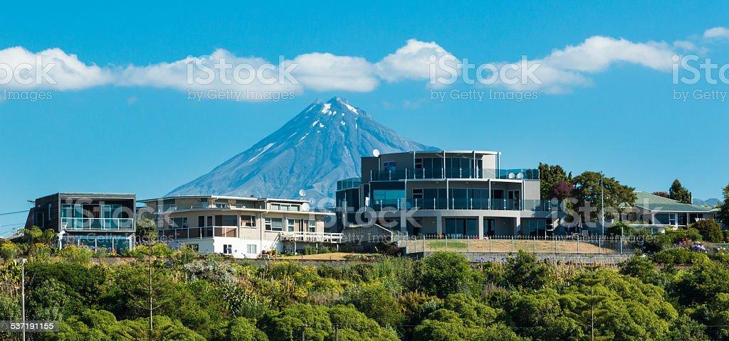Mountain Homes stock photo