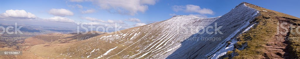 Mountain horizon royalty-free stock photo