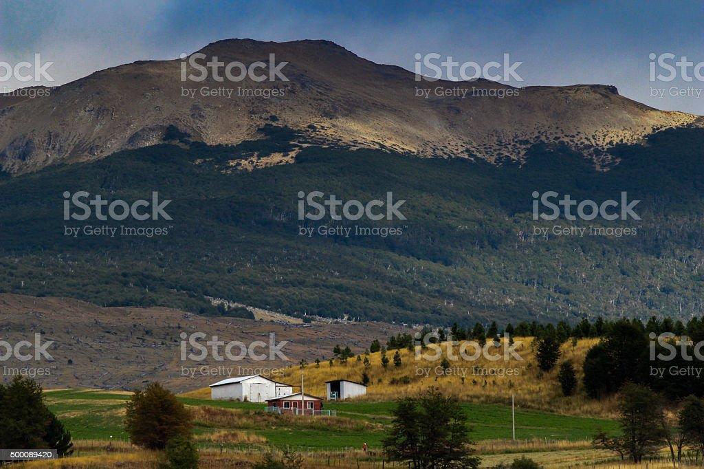 Mountain House stock photo