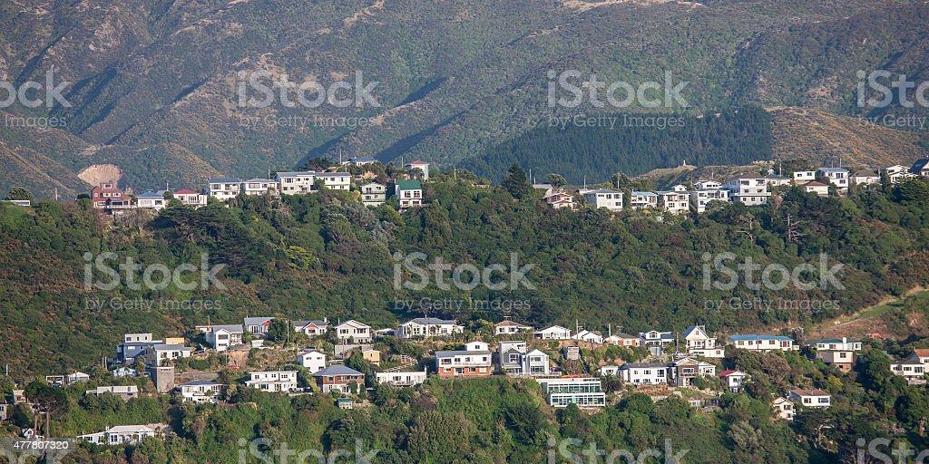 Mountain Housing stock photo