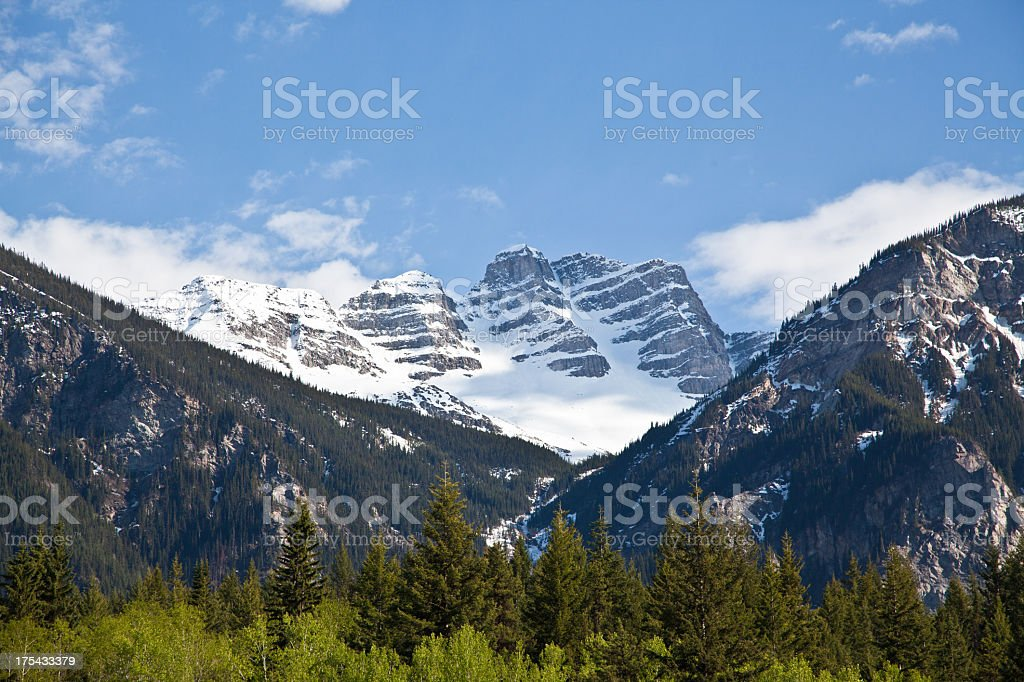 Mountain in Canada / Rocky Mountains stock photo