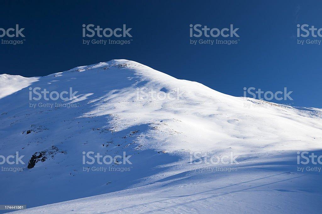 Mountain in Dolomites royalty-free stock photo